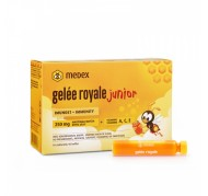 Gele Royale junior fiale, 10x 9 ml, Medex