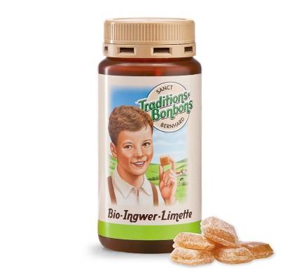 Ingverjevi bonboni z limeto, 170g