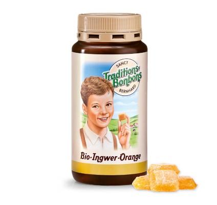 Ingverjevi bonboni s pomarančo, 170g