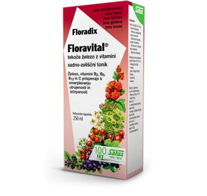 Floradix floravital, 250 ml tonik
