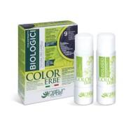 COLOR ERBE® 9 svetlo kostanjeva barva za lase z biološkimi izvlečki