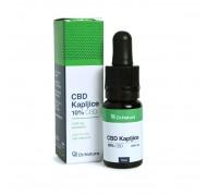 CBD KAPLJICE 10 % / 10 ml, DR NATURA