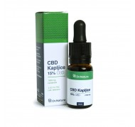 CBD KAPLJICE 15 % / 10 ml, DR NATURA