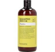 Družinski 2v1 šampon in gel za tuširanje z vonjem cvetlic  500 ml